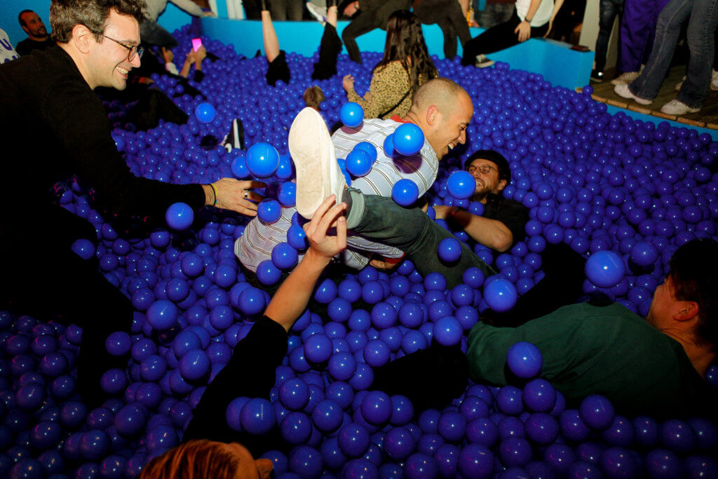Ballpit Youseum museums to visit in amsterdam