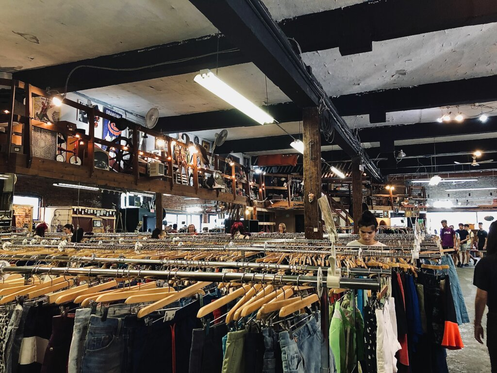 Thrift in Vintage Shops in The Hague